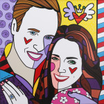 IN THE NEWS: Amazing pop art pics revealed of Wills and Kate…