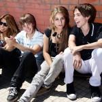 Teens praised for being polite…