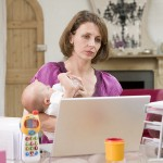 Half of working mums earn less than before they had children…
