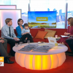 Katy Bassett and Family on Daybreak