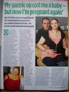 Malissa Jones pregnant again - story in Closer