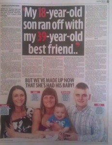 My best friend ran off with my son - Sunday Mirror