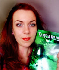 Elizabeth Earle and her book, 'Tartarus'.