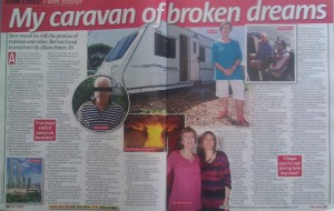 Caravan Of Broken Dreams - Alison Peters - Scammed