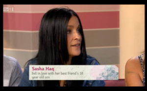 Sasha Haq - ITV This Morning