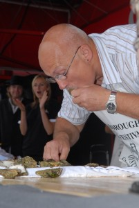 Colin Shirlow - Champion Oyster Eater!