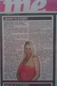 Jenny&#039;s Story The Sun PIP