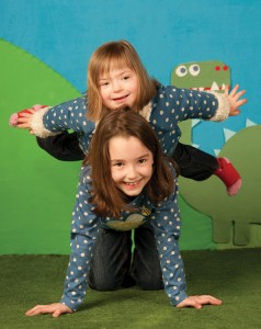 Natty appearing with her Sister, Mia, in Frugi