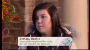 ITV This Morning - stepdad spied on me