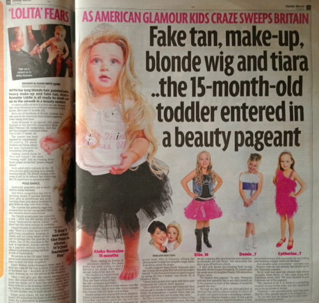 """baby beauty pageants essays """"it doesn't matter if you can breathe it matters if it looks good,"""" says the mother of a beauty pageant child child beauty pageants have recently become more."""