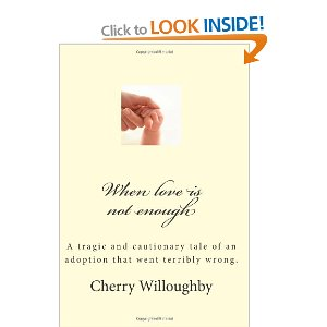 Adoption gone wrong book by Cherry Willoughby