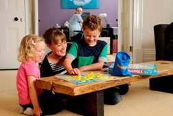 How often do you play board games with your children?