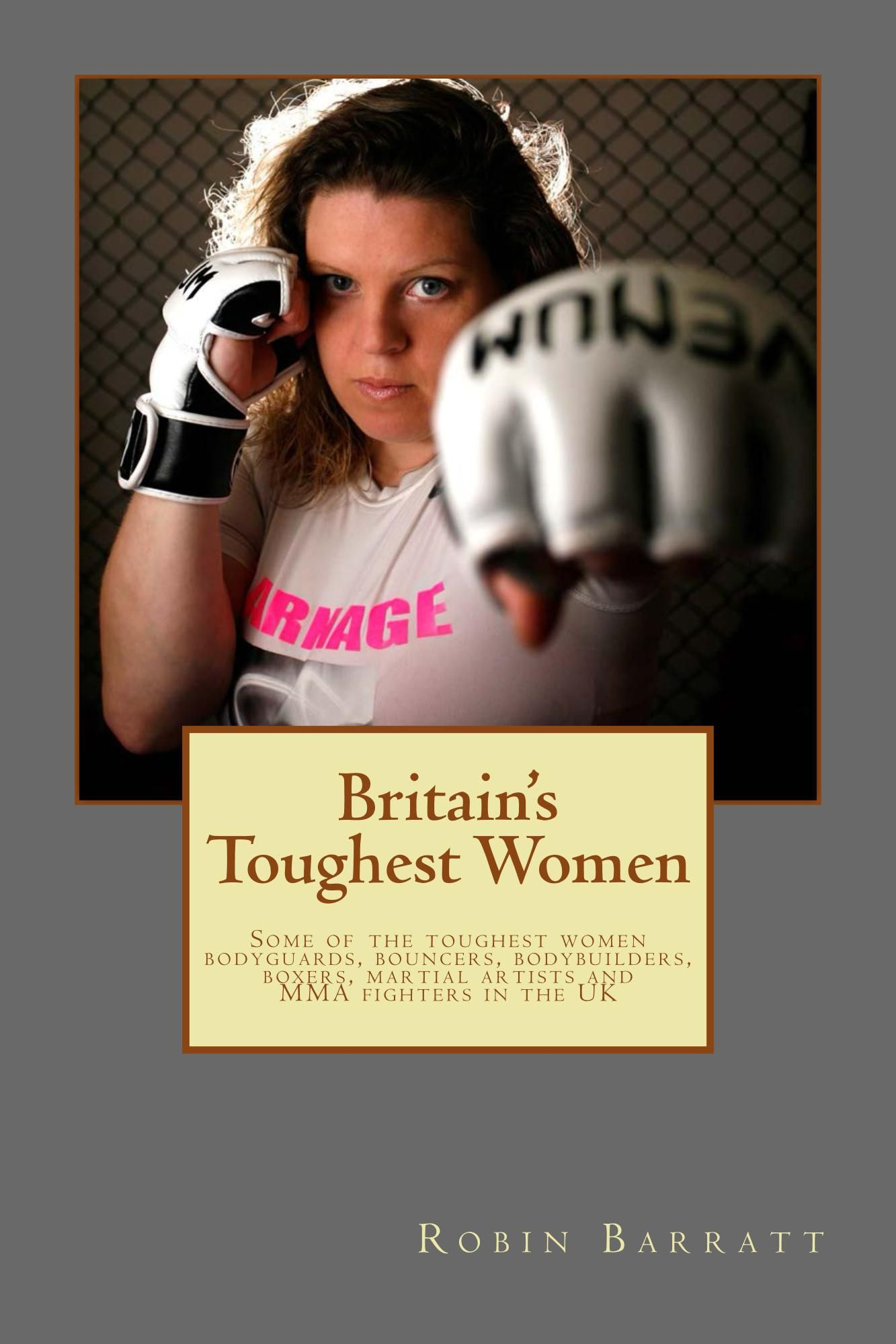 Author Spot: Robin Barratt