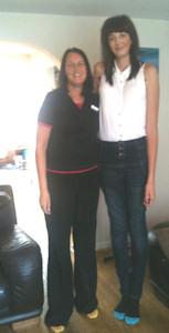 In tallest uk woman Tallest woman